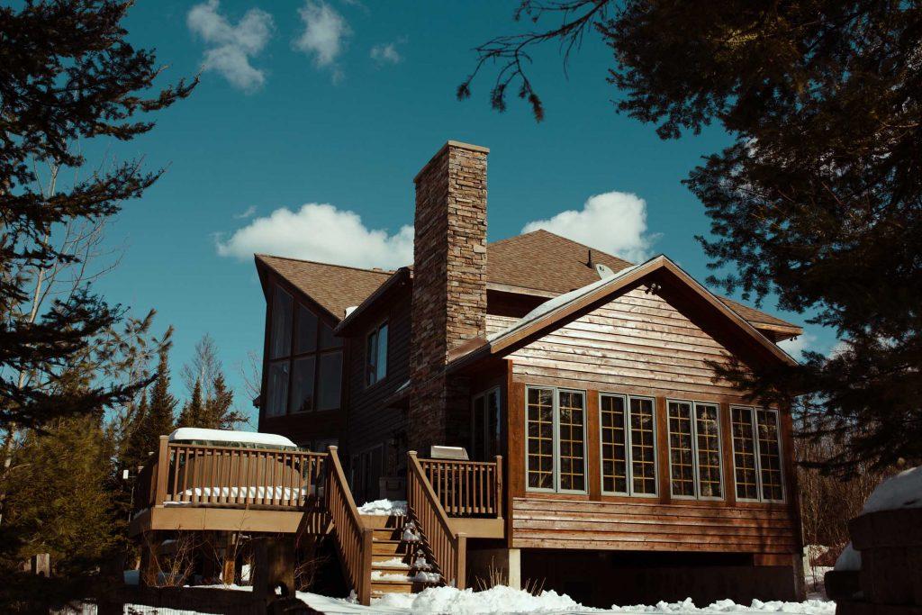 ski house photo
